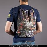 "Scramble ""Samurai"" Drawstring Bag"
